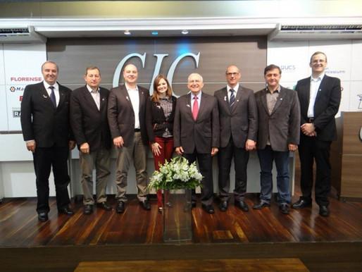Aliar em parceria com a ADCE traz Peter Barth para Reunião-Almoço da CIC
