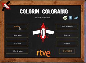 Álex Pina Colorin ColoRadio. Creación de una radio web infantil