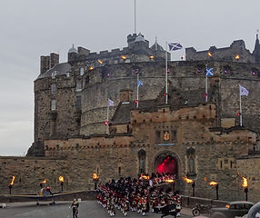 Edinburgh Castle, Scotland. U.K.