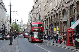London high street shopping, Chelsea, West End, London. England