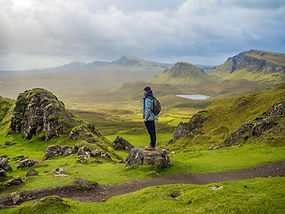 Scottish Highlands. Hiking Trips.
