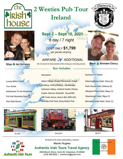 2 Westies Pub Tour 2021 Flyer - 8-10-202
