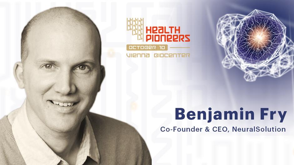 Benjamin Fry was invited as a Keynote Speaker at Health.Pioneers conference.