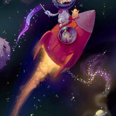 Astrobeard and Rocketcat