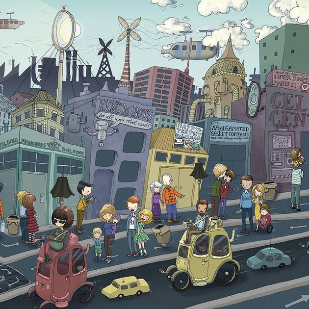 Hugo Streetscape