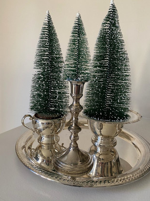 Vintage Silver Treescapes