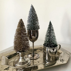 Vintage Silver Treescapes