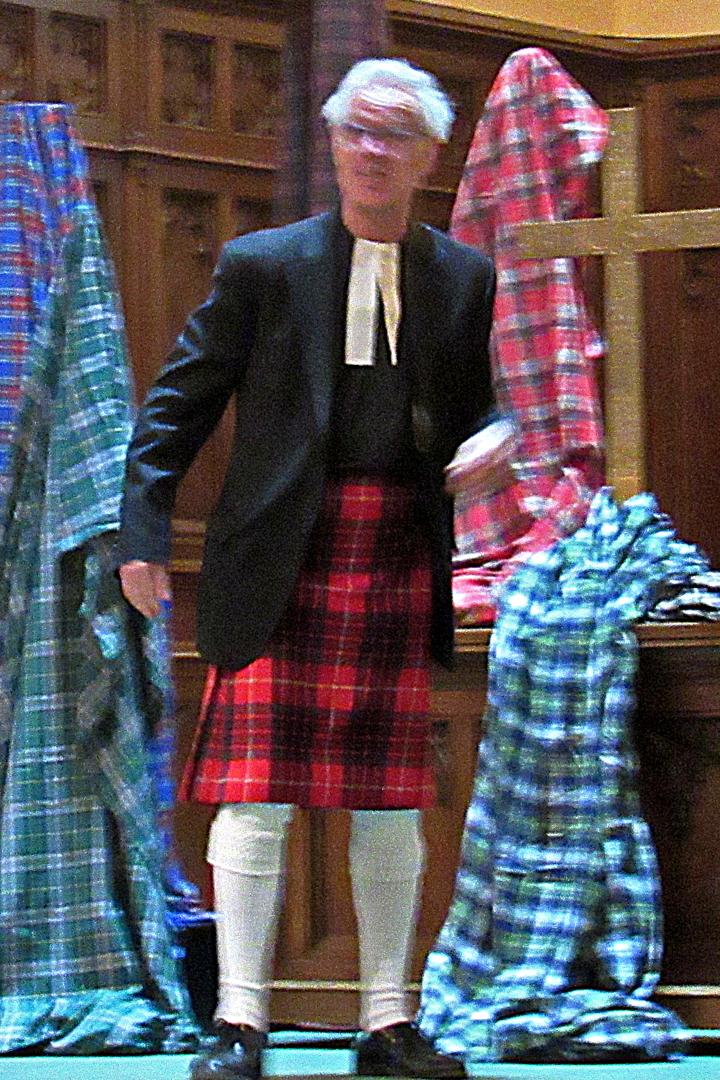Rev. Proudfoot, aka George Jolilnk
