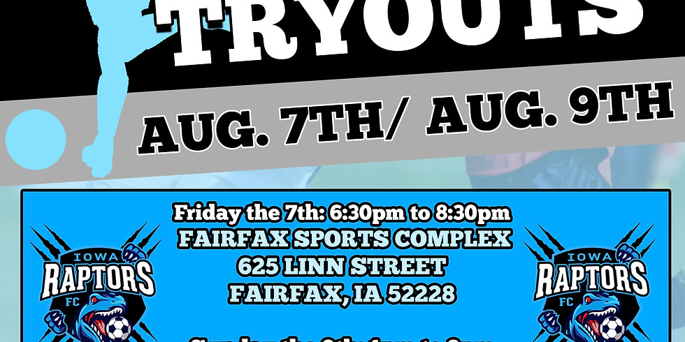 August Open Tryout Registration