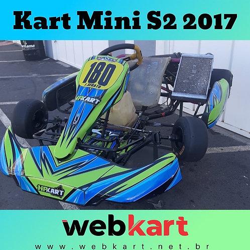 Kart Mini S2 2017, com Motor Vortex 125cc
