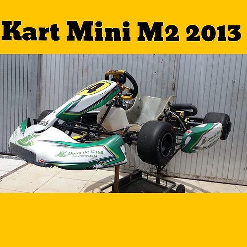 Kart Mini M2 2013, com motor Rotax Max