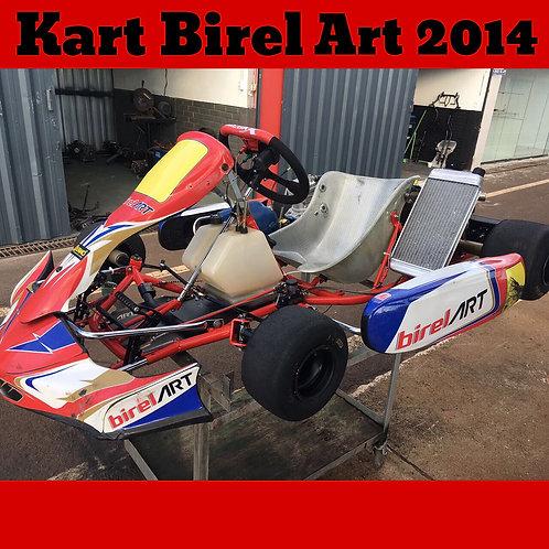 Kart Birel Art 2014, com motor IAME Parilla My9