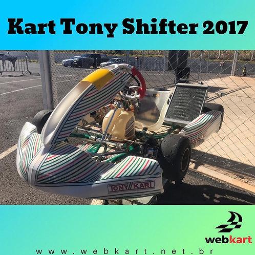 Kart Tony Shifter 2017, com Motor Vórtex RVXX