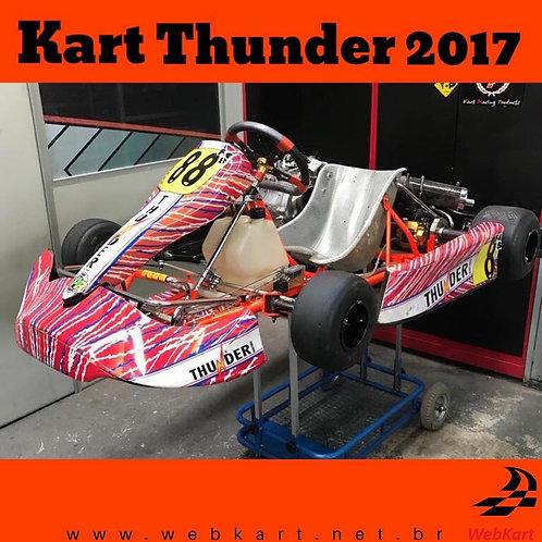 Kart Thunder 2017, com Motor Honda 18HP RBC