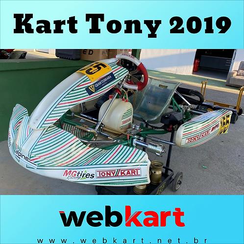 Kart Tony 2019, Com Motor Rotax Max Completo