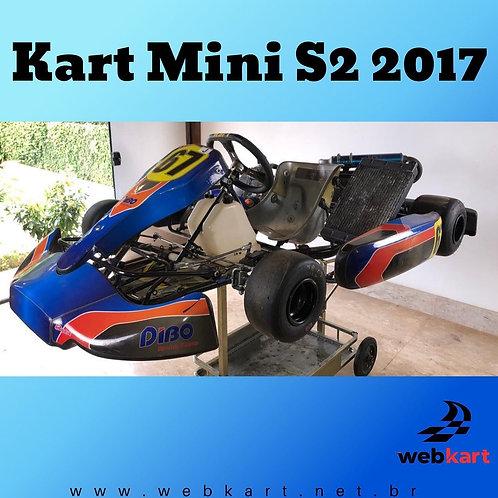 Kart Mini S2 2017 Júnior Menor, com Motor Parilla My13