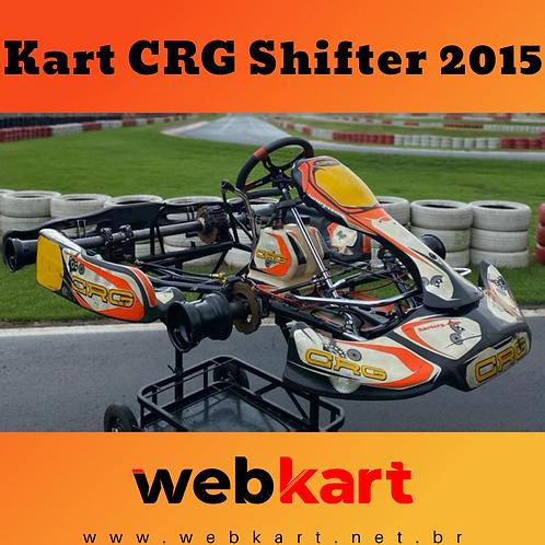 Kart CRG Shifter 2015, Com Motor TM K9c