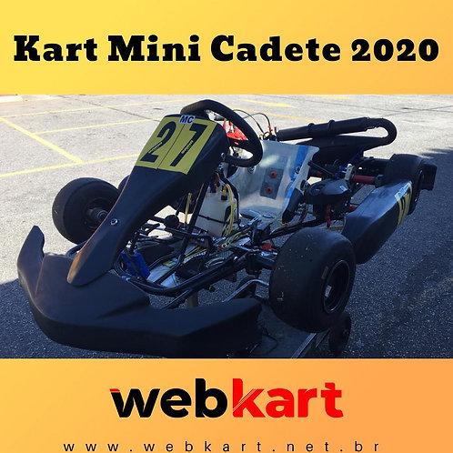 Kart Mini Cadete 2020, Com motor Rotax Mini Max