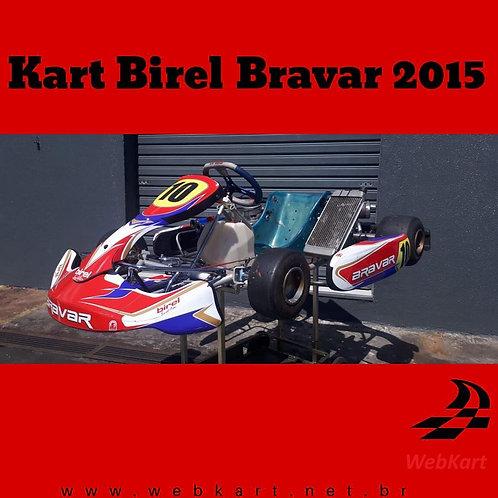 Kart Birel Bravar 2015, com Motor Italsistem 125cc