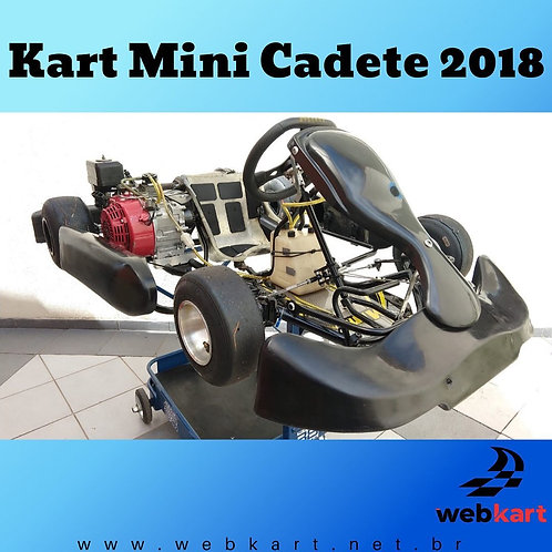 Kart Mini Cadete 2018, com Motor Honda 6.5HP