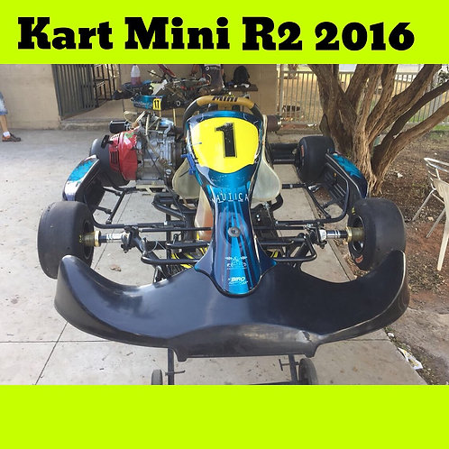Kart Mini R2 2016 com motor Honda 4 Tempos