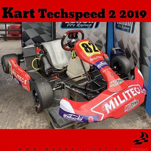 Kart Techspeed 2 2019, com Motor Rotax Max Evo