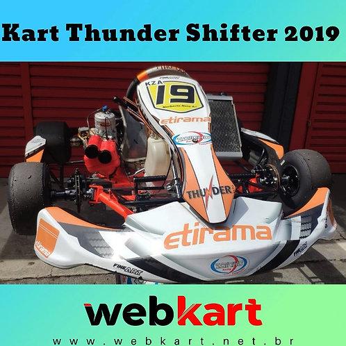 Kart Thunder Shifter 2019, com Motor TM Kz10a