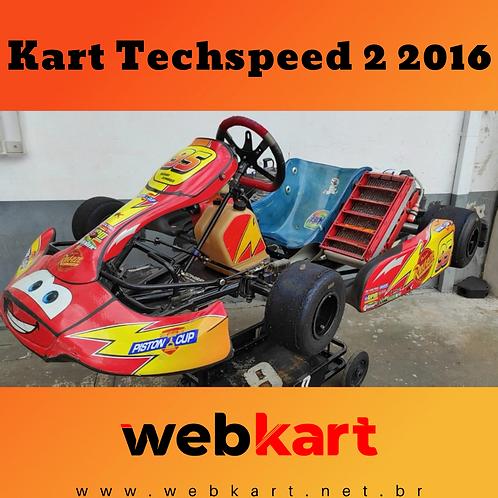 Kart Techspeed 2 2016, com Motor My10