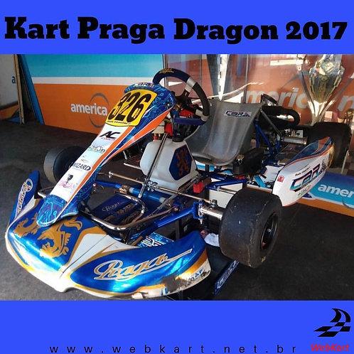 Kart Praga Dragon 2017, Com Motor Rotax Max Evo