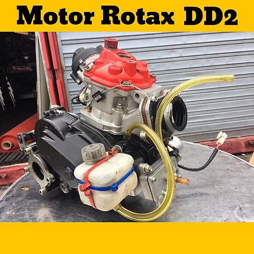Motor Rotax DD2 com 6 horas de uso