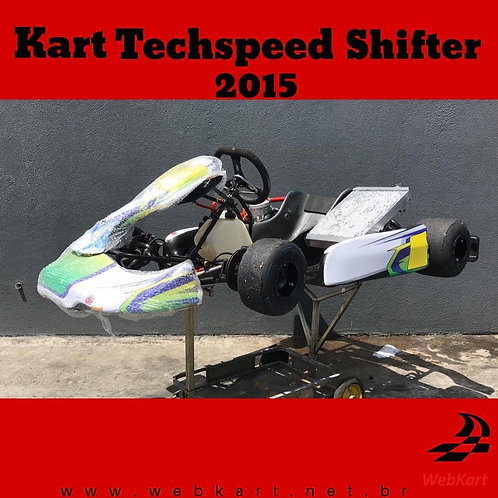 Kart Techspeed Shifter 2015,com Motor K9C