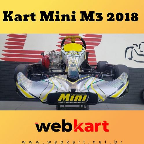 Kart Mini M3 2018, Com Motor Honda 21HP