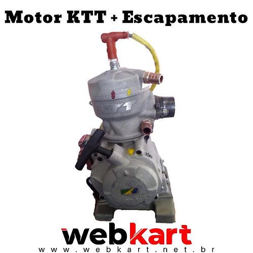 Motor KTT + Escapamento