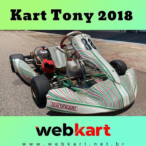 Kart Tony 2018, com Motor Shifter Kz10