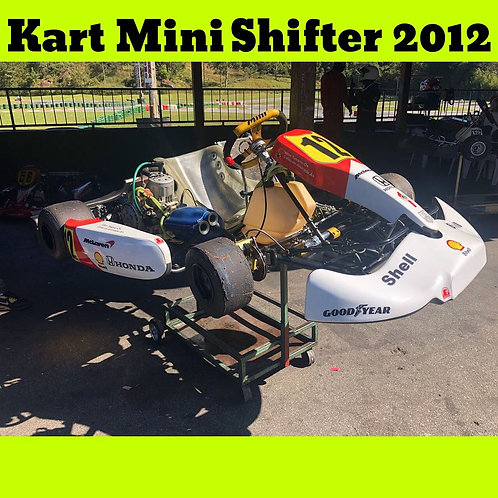 Kart Mini Shifter 2012, com motor K9C