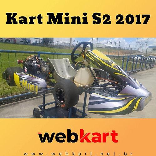Kart Mini S2 2017, Com motor Fortex