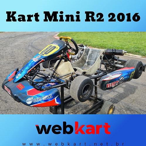 Kart Mini R2 2016, com Motor Honda RBC 18HP