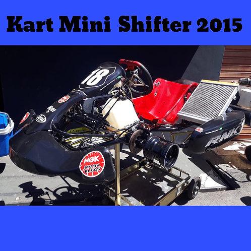 Kart Mini Shifter 2015, com motor Parilla IAME Shifter , Similar ao Kz10b