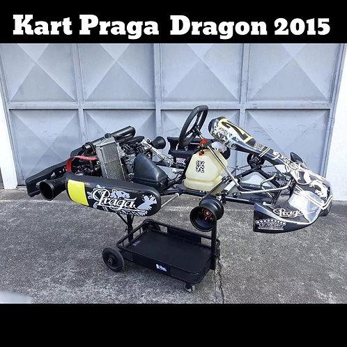 Kart Praga Dragon RBS 2015 , com Motor Rotax Júnior Max