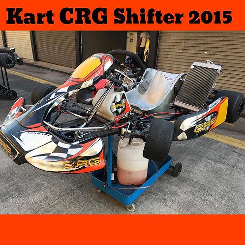 Kart CRG Shifter 2015, com motor Maxter Shifter