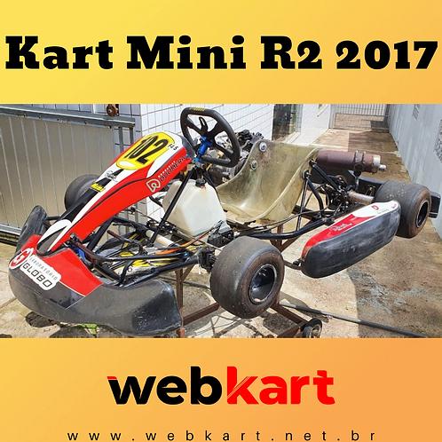 Kart Mini R2 2017, com Motor Honda