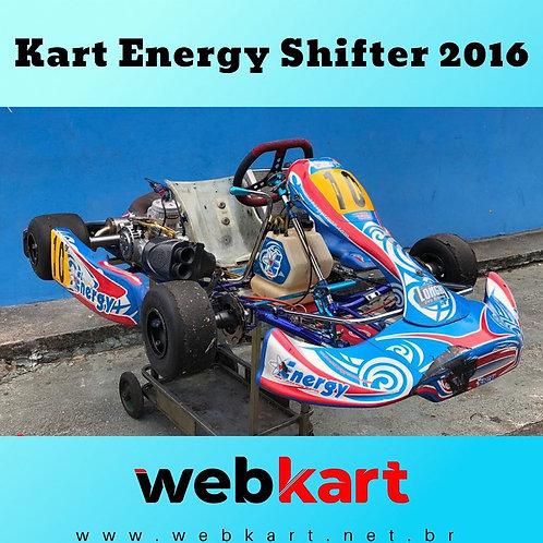 Kart Energy Shifter 2016, com Motor TM Kz10