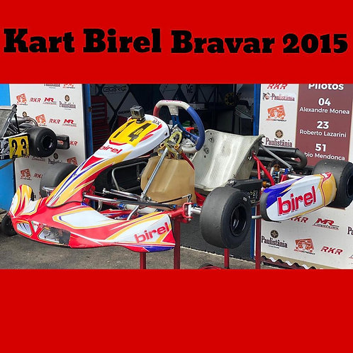 Kart Birel Bravar 2015, com Motor Rotax Max Evo