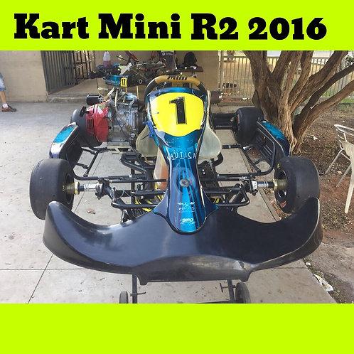Kart Mini R2 2016 com motor Honda 4 Tempo