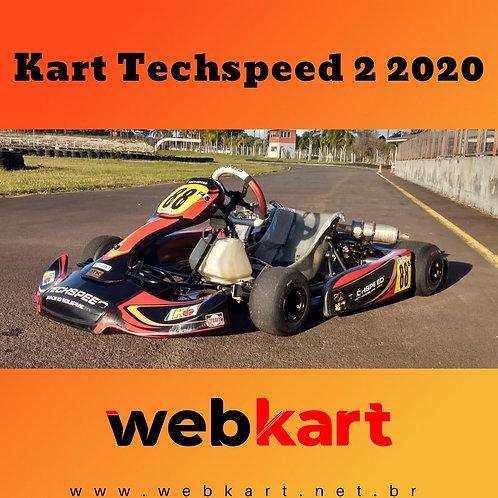 Kart Techspeed 2 2020, com Motor Honda 21HP