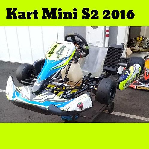 Kart Mini S2 2016, com motor KTT