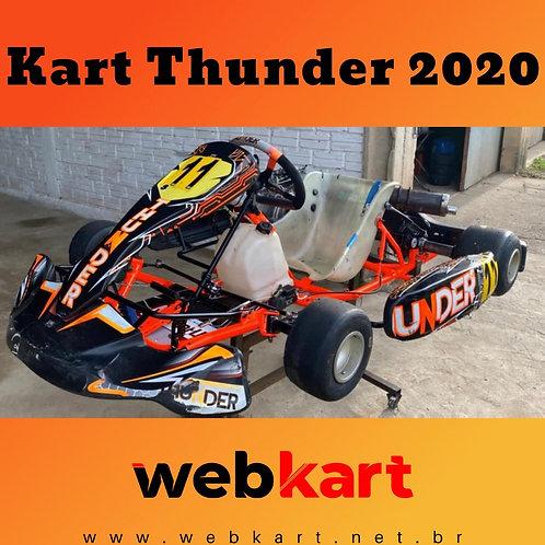 Kart Thunder 2020, Com Motor Honda RBC 18HP