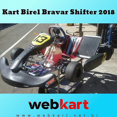 Kart Birel Bravar 2018 Shifter , com Motor TM Kz10 + MyChron 4