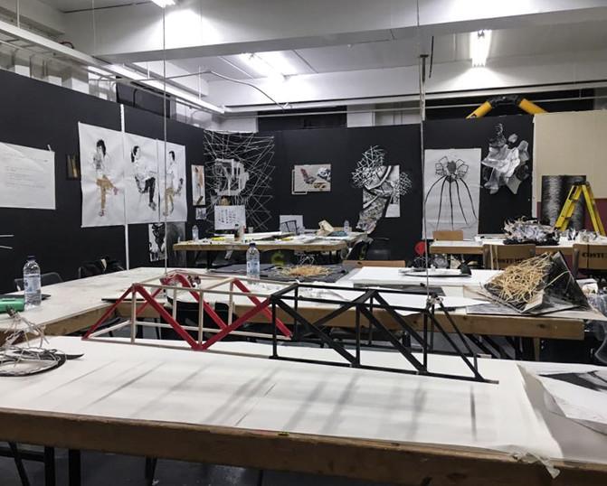 Summer school studio in UAL 2015