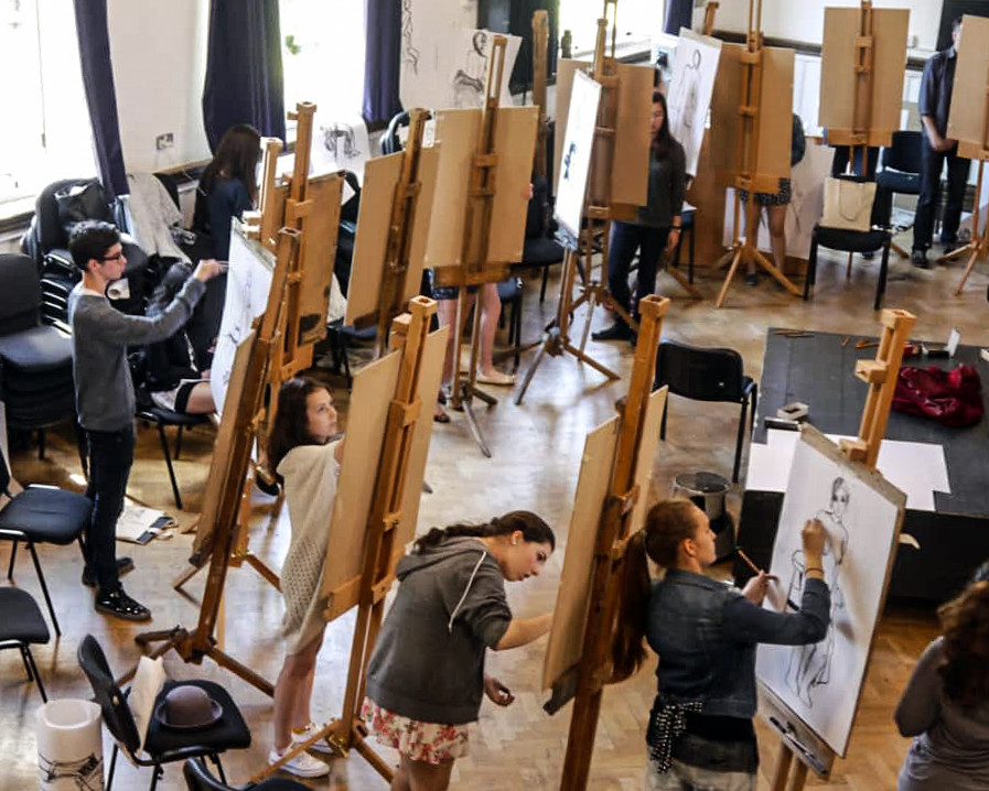 Life drawing at Camberwell College of Arts 2014